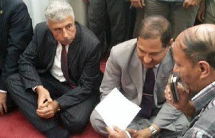 بالصور.. محافظ الغربية ومدير الأمن يفتتحان المسجد الشرقى بقرية ميت هاشم