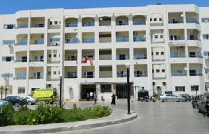 وصول 8 مجندين مصابين بطلقات نارية وشظايا لمستشفى العريش