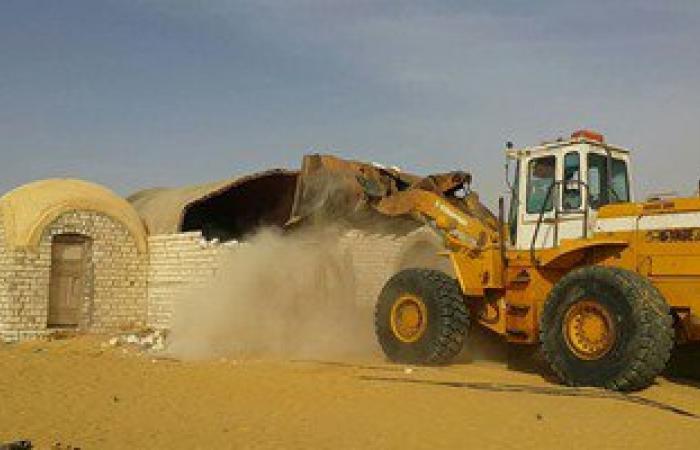 بالصور.. إزالة التعديات على 510 ألف فدان بمشروع استصلاح 1.5 مليون فدان