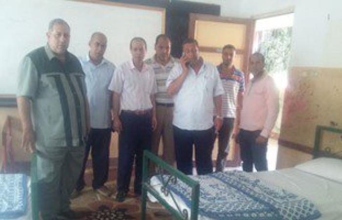 توفير احتياجات المراقبين والملاحظين للامتحانات باستراحة فوه فى كفر الشيخ