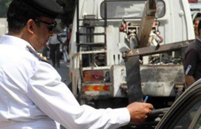 ضبط 494 مخلفة مرورية و3 سائقين بتهمة القيادة تحت تأثير المخدر فى أسوان