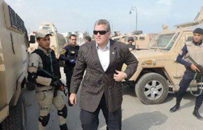 مدير أمن شمال سيناء يشارك فى ماراثون لدعم إنشاء مستشفى خيرى للأورام بالعريش