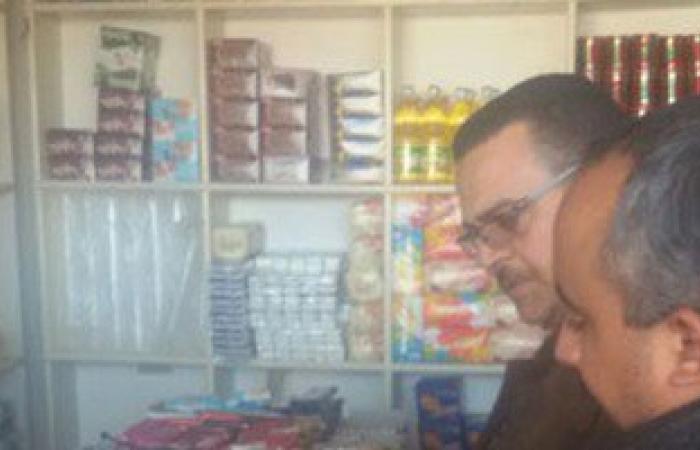 رئيس مجلس مدينة بورفؤاد يقود حملة للتأكد من سلامة السلع الغذائية بالأسواق