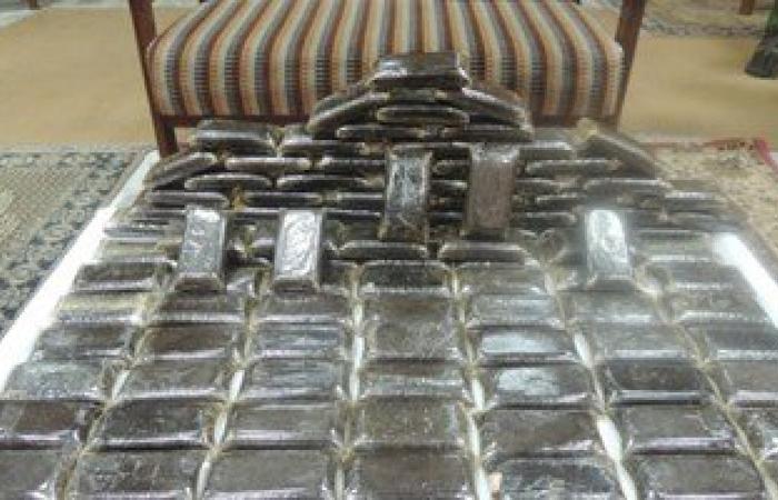 ضبط 55 طربة حشيش قبل إغراق الإسكندرية بها فى العيد