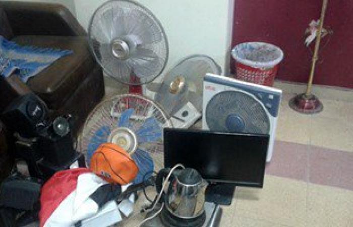 ضبط محل غير مرخص لتجارة قطع غيار أدوات كهربائية مغشوشة بالقاهرة