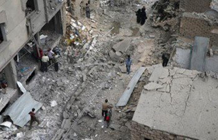 مقتل 15 مدنيا على الأقل فى قصف جوى على بلدة فى شمال غرب سوريا