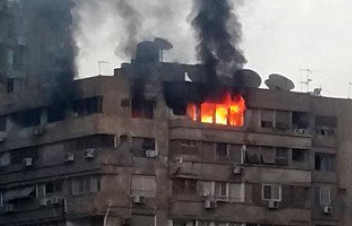 إخماد حريق بشقة سكنية فى أكتوبر دون إصابات