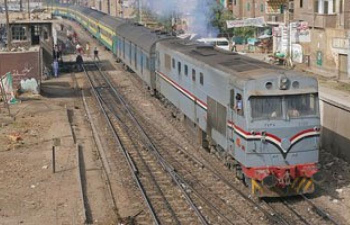 مصرع معاق ذهنياً أسفل عجلات قطار أبو قير فى الإسكندرية