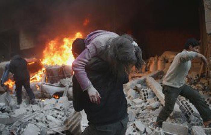 مقتل 18 مدنيا وإصابة 120 فى قصف للمعارضة السورية على مناطق النظام بحلب