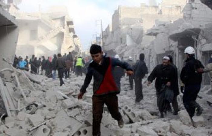 ارتفاع ضحايا قصف المعارضة السورية على حلب إلى 34