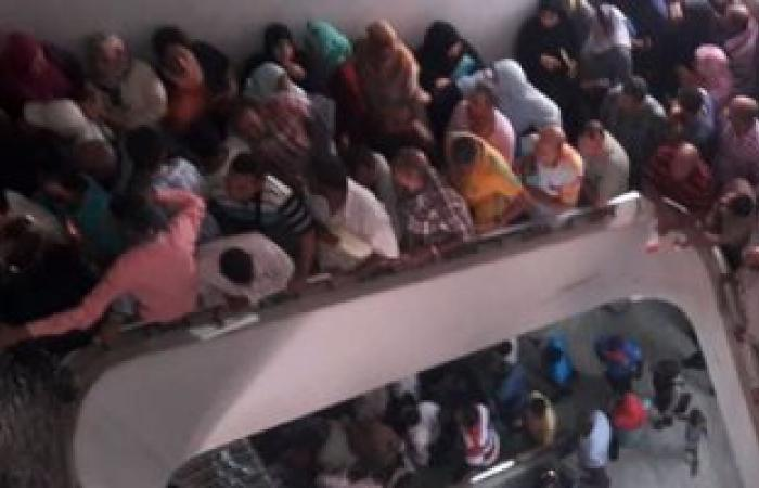 إصابة شخصين وتعطل العمل بمركز المعلومات بسبب مشاجرة بين المواطنين فى المنيا