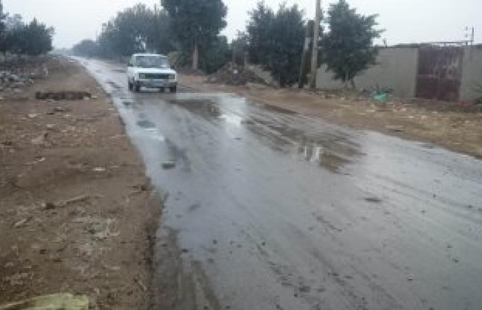 """سيول بواديى """"المدسوس والكيت"""" بمدينة دهب نتيجة سقوط أمطار بسانت كاترين"""