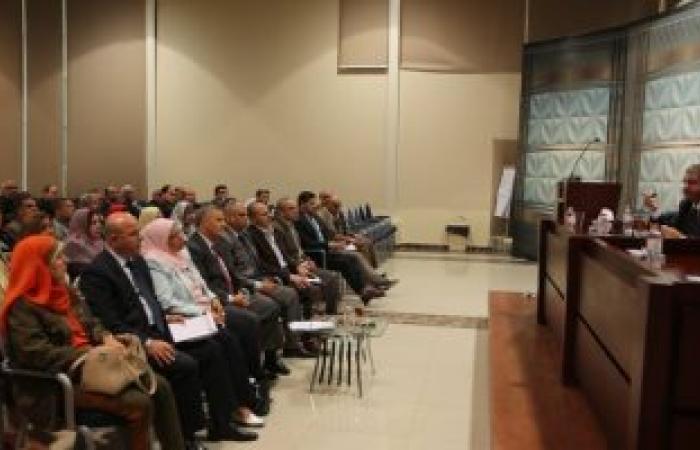 خالد عبد العزيز يلتقى قيادات وزارة الرياضة لبحث البرامج والمشروعات الإنشائية