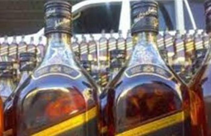 ضبط بقال بحوزته 576 زجاجة مشروبات كحولية بأسيوط
