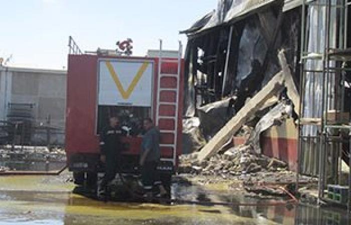 الحماية المدنية تسيطر على حريق مخزن أخشاب بمدينة منيا القمح