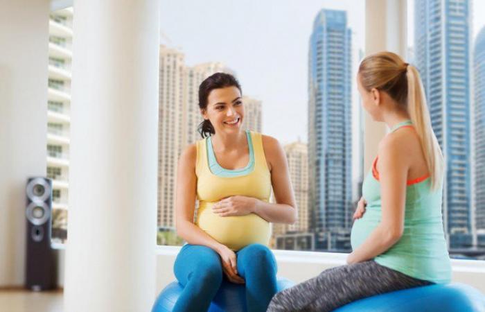تمارين تؤمن القوة والاسترخاء للحامل في أشهرها الأخيرة