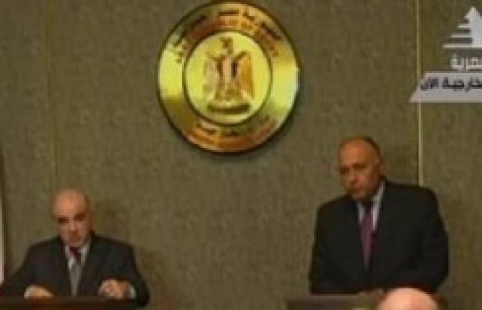 «شكرى»: نقدر مواقف مالطا ودعمها لخطوات الإصلاح فى مصر