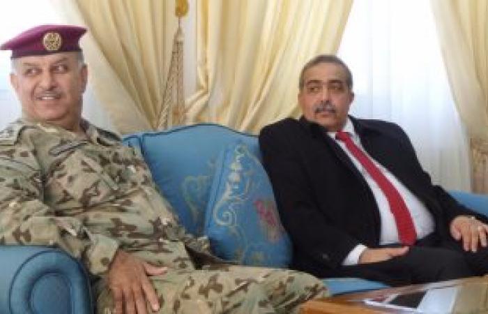 رئيس الأركان الليبى يصل عمان ويلتقى قائد القوات الخاصة بالجيش الأردنى