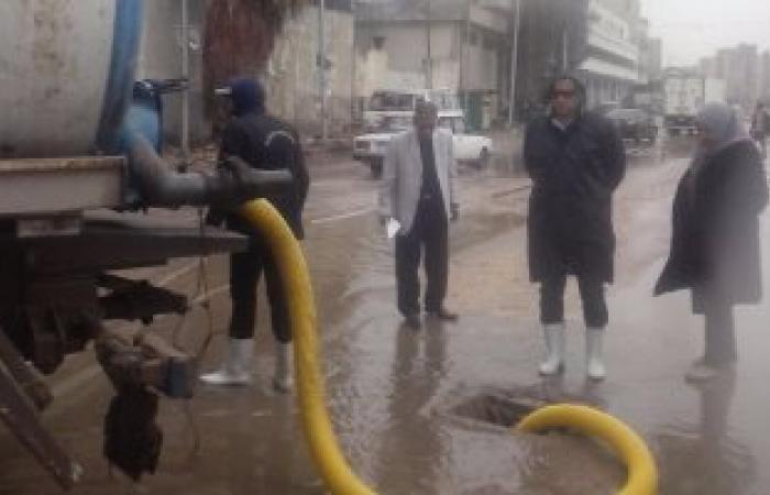 انقطاع التيار الكهربائى بمناطق غرب الاسكندرية بسب موجة الطقس السئ