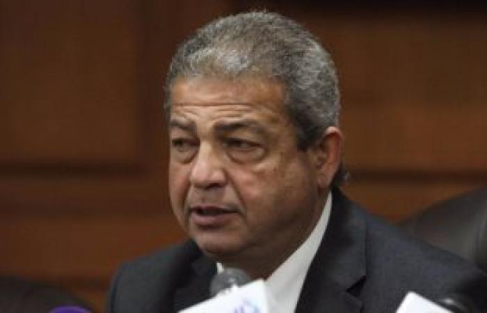 وزير الرياضة يلقى كلمه أمام الجمعية العمومية لاتحاد كرة القدم اليوم