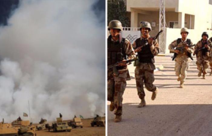 مصرع 20 إرهابياً من تنظيم داعش غربى الأنبار بالعراق