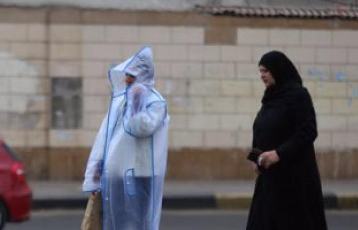 الأرصاد: تكاثر السحب شمالا يصاحبها سقوط أمطار غزيرة..والصغرى بالقاهرة 9