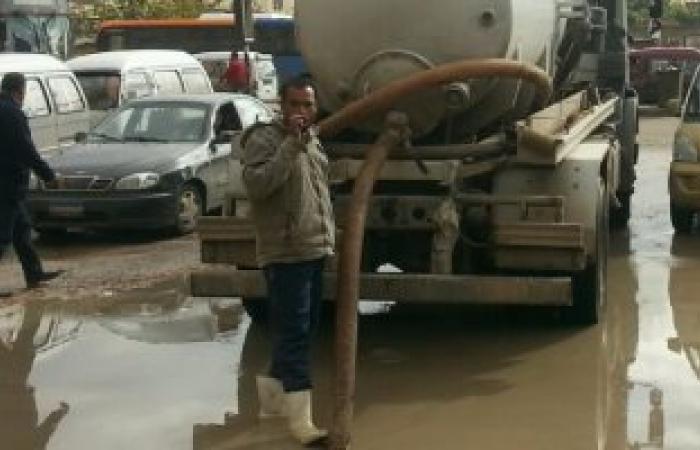 بالصور .. استمرار هطول الأمطار على الإسكندرية لليوم الثالث على التوالى
