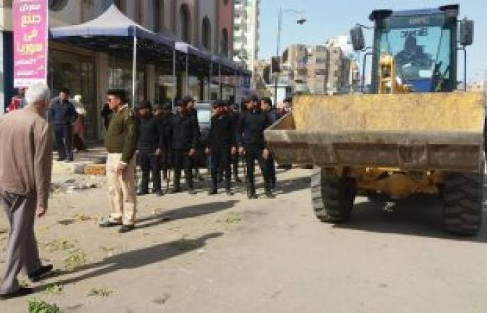 تحرير 1167 محضر إشغال وإزالة بمدينة أسيوط خلال أسبوع