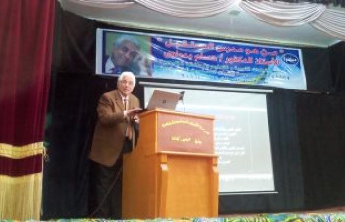 بالصور.. حسام بدراوى من القليوبية: التعليم مدخل رئيسى لتنمية مصر