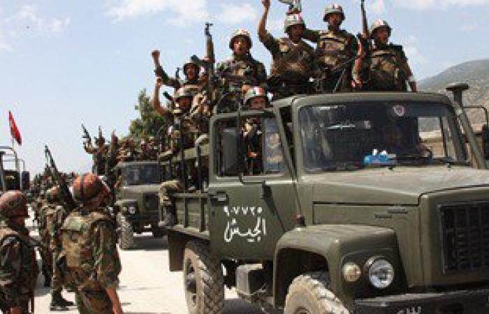 الجيش السورى يصعد حملته لاستعادة السيطرة على واد استراتيجى