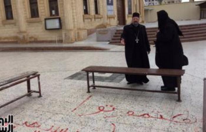 """بالصور.. راعى كنيسة الروم الارثوذكس: طلبت تعلية سور""""العذراء"""" بدمياط"""
