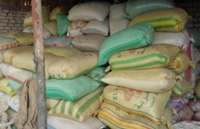 ضبط تاجر بحوزته 20 طن أرز مدعومة قبل بيعها بالسوق السوداء بقنا