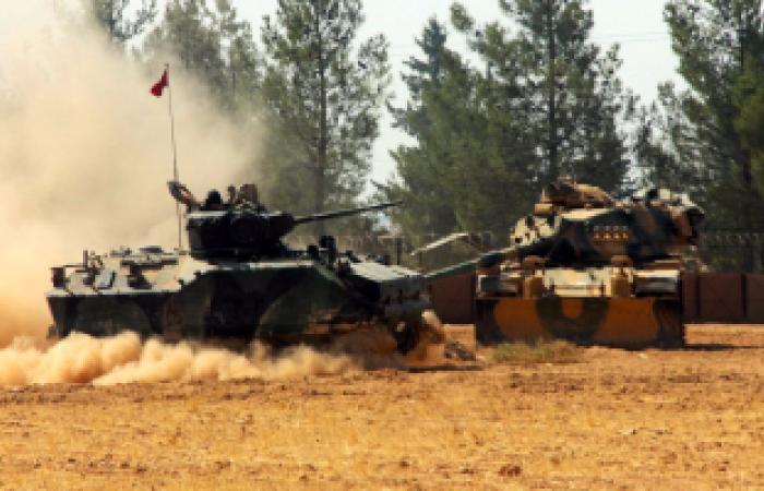 الجيش التركى: إصابة 117 عنصرا من داعش بشمال سوريا