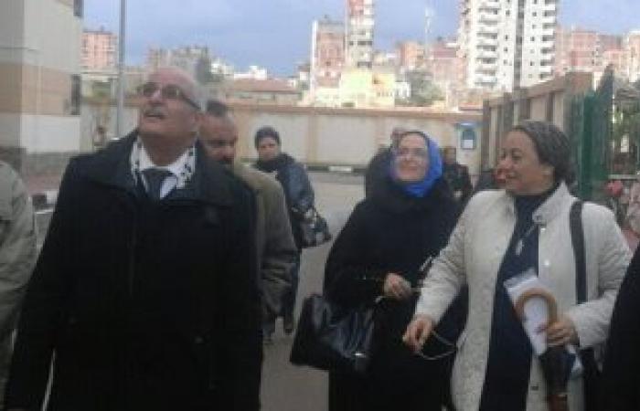 """"""" القومى للمرأة بالاسكندرية يزور مدينة البشاير بغيط العنب تمهيدا لانشاء فرع بها"""