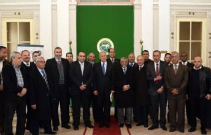 بالصور.. أبو الغيط يزور معهد البحوث التابع لجامعة الدول العربية