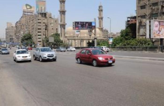 النشرة المرورية.. سيولة بمعظم محاور وميادين القاهرة والجيزة