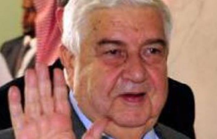 وزير الخارجية السورى يزور إيران اليوم لإجراء محادثات مع نظيره الإيرانى