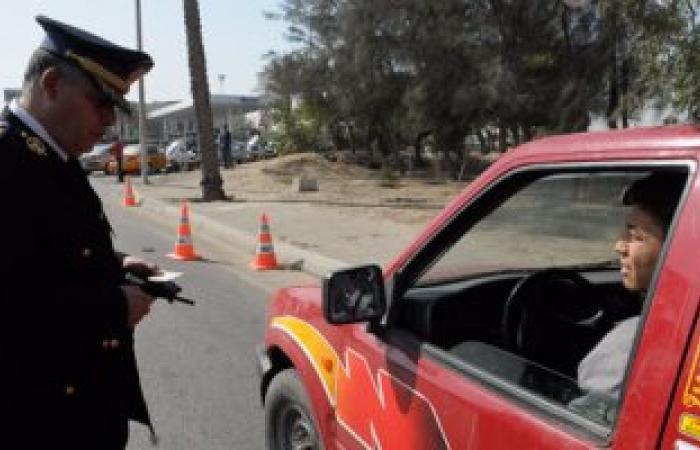 ضبط 26 سائقا يتعاطون المواد المخدرة أثناء القيادة بالطرق السريعة