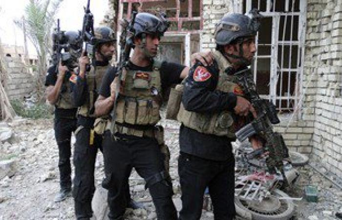 """الشرطة العراقية تطهر طريق """" كوكجلى - الانتصار """" شرقى مدينة الموصل"""