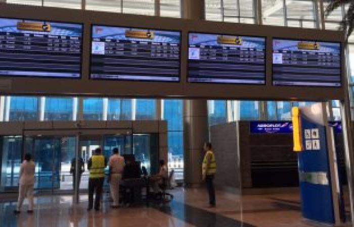 إلغاء إقلاع 8 رحلات دولية بمطار القاهرة لعدم جدواها اقتصاديا