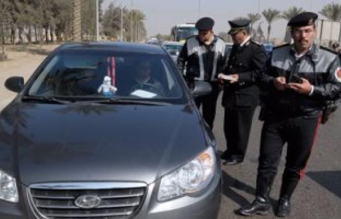 ضبط 27 سائقا لتعاطيهم المواد المخدرة أثناء القيادة بالطرق السريعة