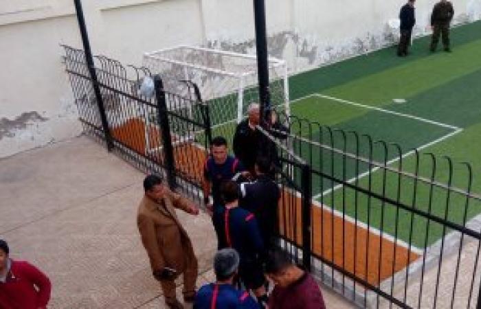 تعطل سماعات حكم مباراة طنطا وأسوان