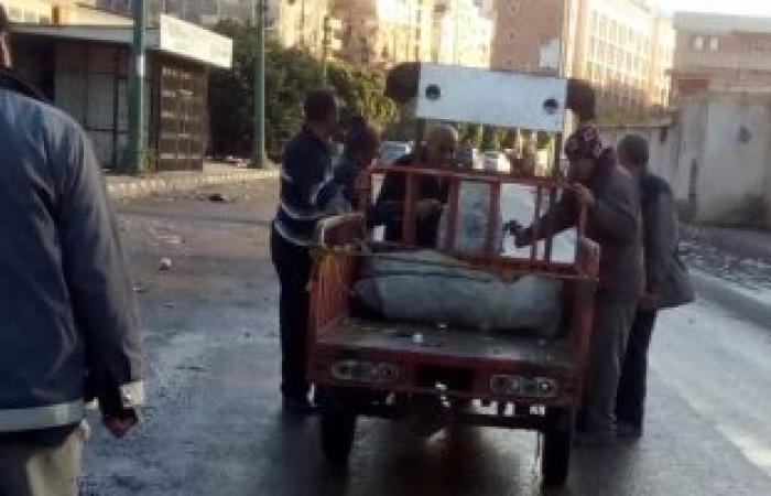 حى شرق الاسكندرية يشن حملة ضد النباشين