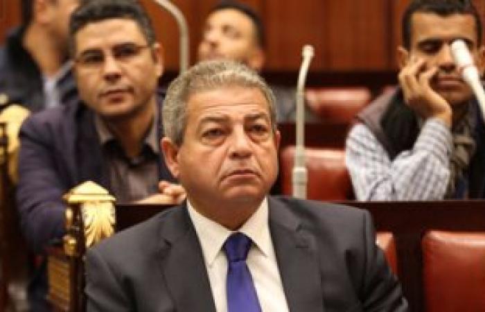 وزير الرياضة يحضر نهائى البطولة العربية للسلة باستاد القاهرة غدا