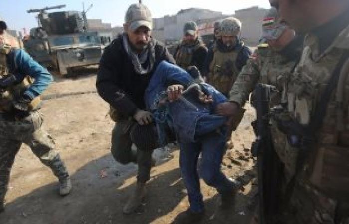 """القوات العراقية تقتل 277 من """"داعش"""" الإرهابى وتحرر 4 أحياء شرقى الموصل"""
