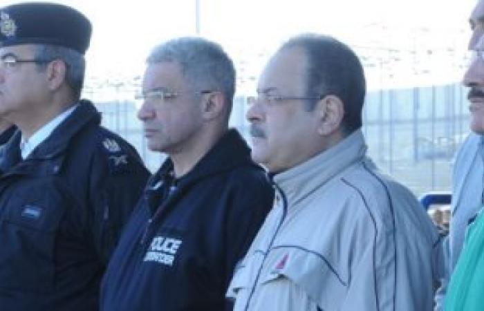 بالصور.. وزير الداخلية يزور أكاديمية الشرطة مرتديا الملابس الرياضية