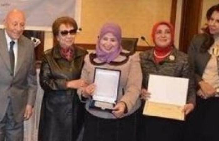 القومى لحقوق الإنسان يكرم مدير وحدة متحدى الإعاقة بجامعة بنى سويف