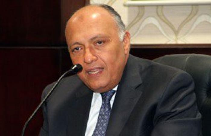 وزير خارجية الكونغو يسلم شكرى دعوة للرئيس السيسى لحضور اجتماعات ليبيا