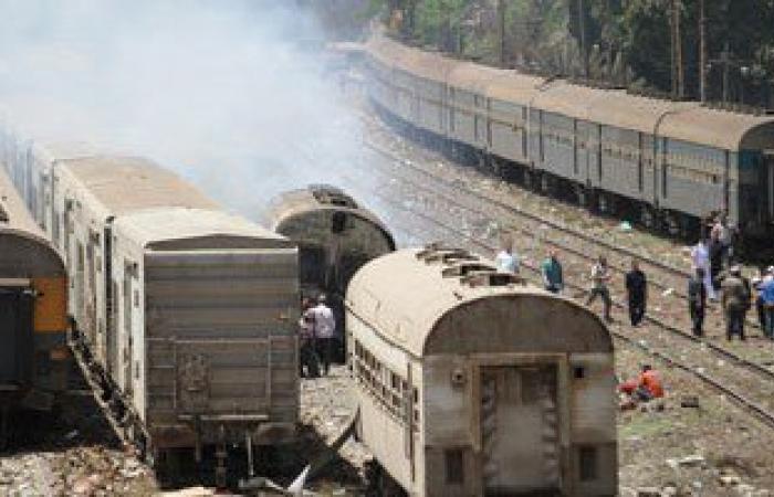 السيطرة على حريق اندلع بقطار ركاب بمطروح دون إصابات
