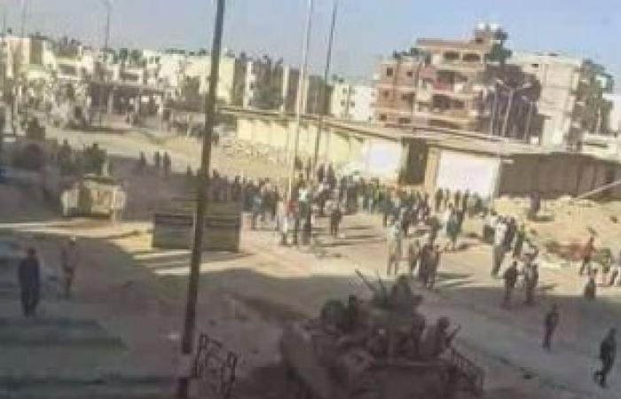 أمن شمال سيناء يلاحق مسلحين بالعريش ومنطقة الوادى وسماع دوى انفجارات